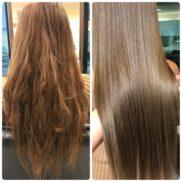 【オープン5周年記念】カット+髪質改善カラー
