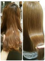 【未体験な感動を】カット+髪質改善秘密のヘアメンテ